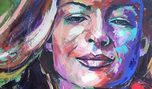 Faszination expressives Portrait