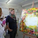 Sommerakademie worpswede, Fotokurse, Fotoworkshops, Malreisen, Malkurse, Struktur malen, Atelier, Dozenten